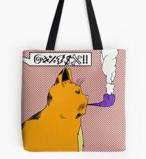 Bolsa de tela El gato que fuma