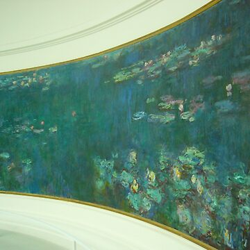 monet's Waterlillies in the Orangerie by ChristineBetts