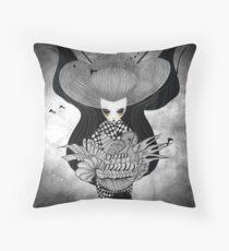 Iku Sorceress Throw Pillow