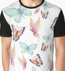 Butterflies are Free Graphic T-Shirt