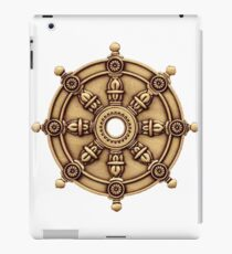 Buddhism  -  DHARMA WHEEL  iPad Case/Skin
