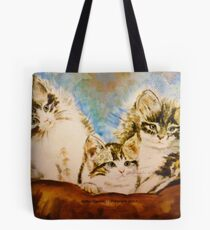 Atomic Kittens Tote Bag