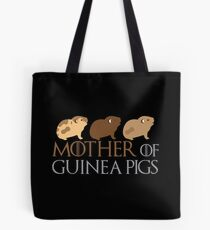 Mother of Guinea pigs Tote Bag