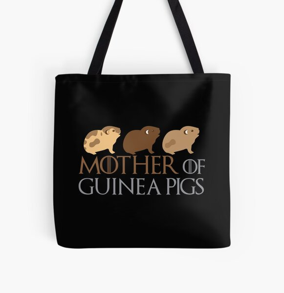 Mother of Guinea pigs All Over Print Tote Bag