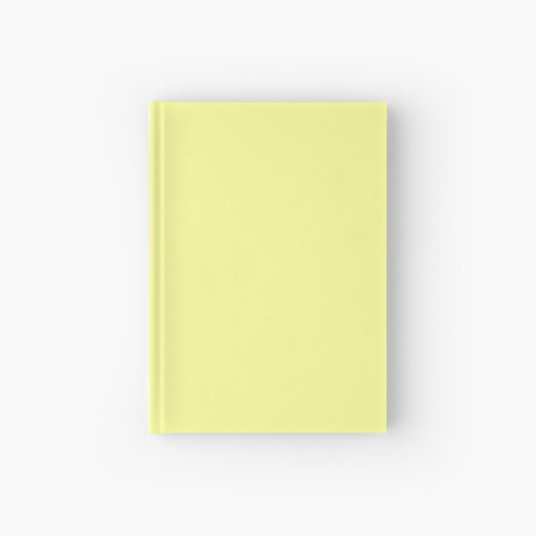 Pastel Yellow Hardcover Journal