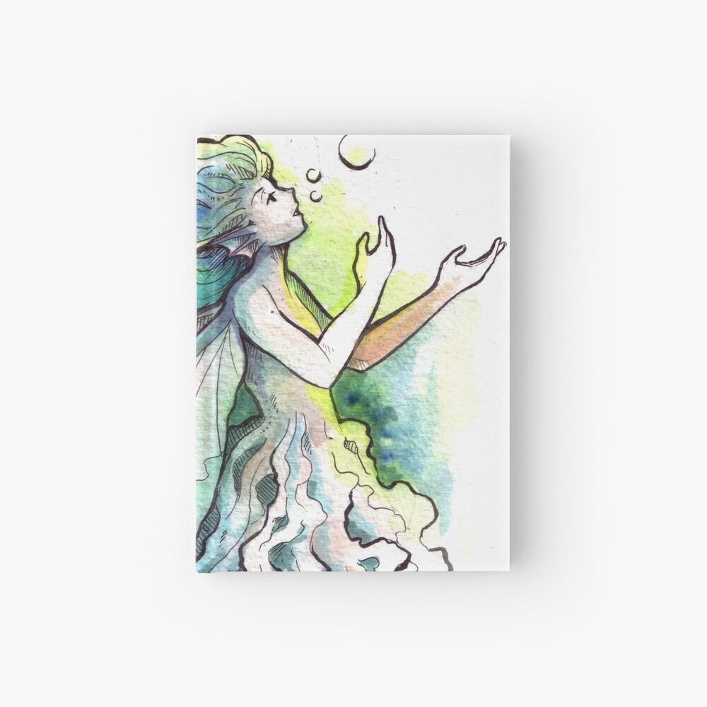 The Underwater Fairy Hardcover Journal