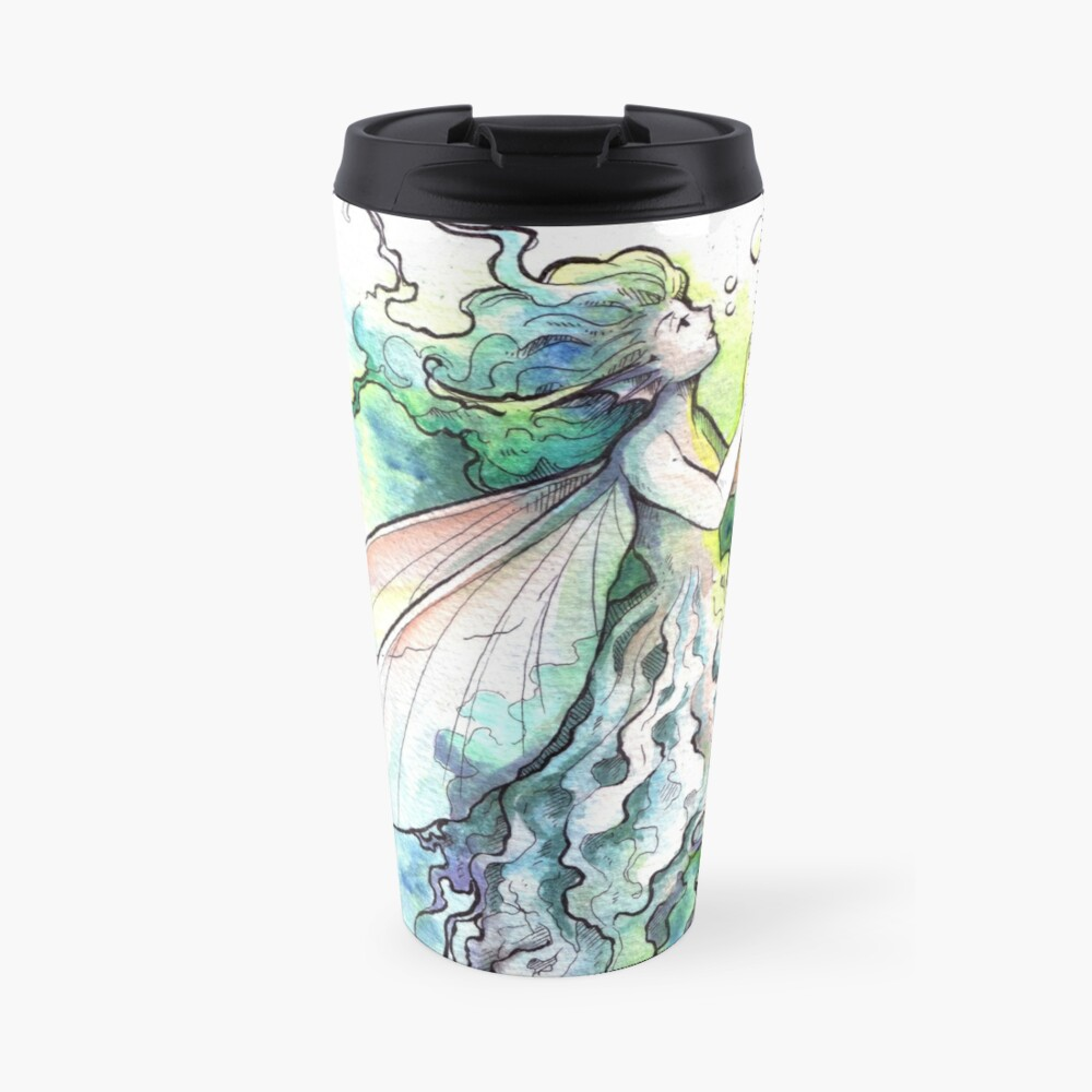 The Underwater Fairy Travel Mug