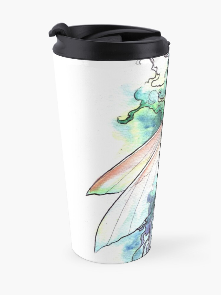 Alternate view of The Underwater Fairy Travel Mug
