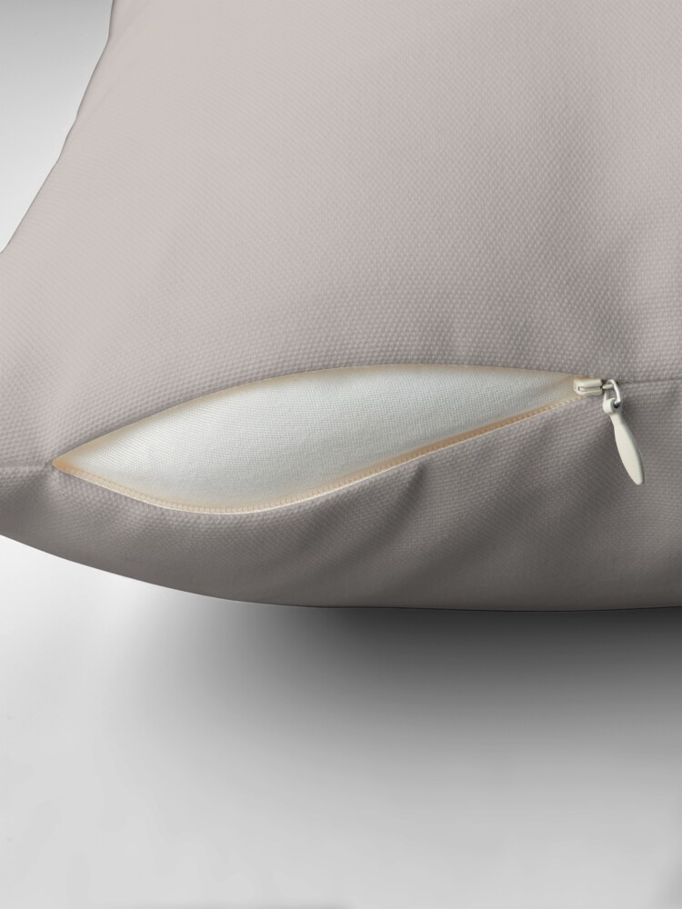 Alternate view of Pale Silver Floor Pillow
