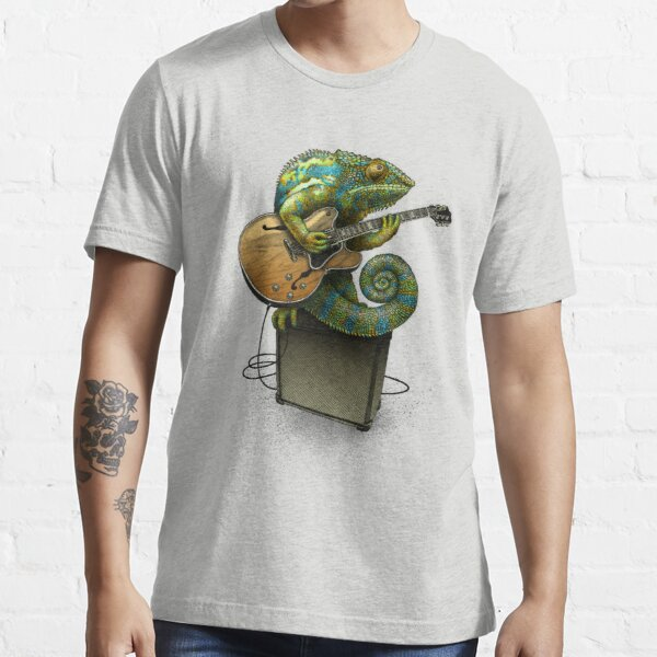 Chameleon Plays the Blues... plus a few other colors Essential T-Shirt