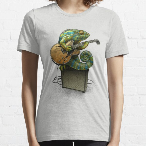 Chameleon Plays the Blues ... plus quelques autres couleurs T-shirt essentiel