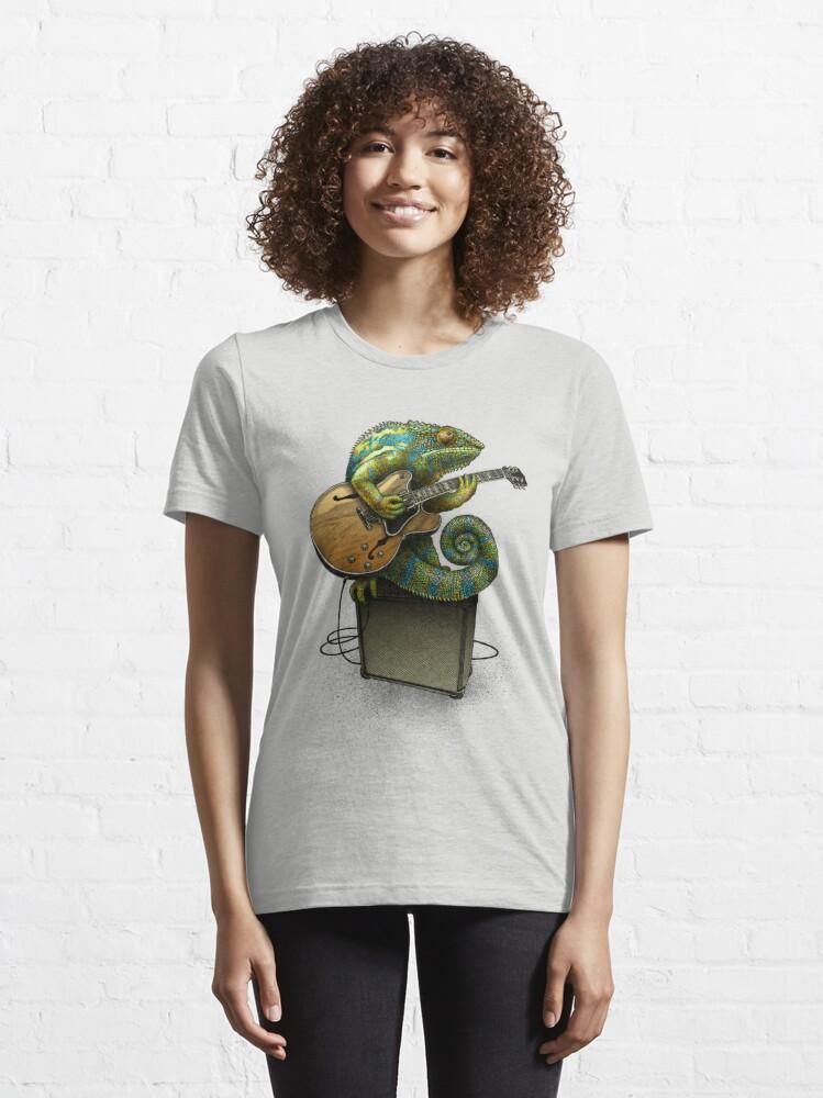 Alternative Ansicht von Chamäleon spielt den Blues ... plus ein paar andere Farben Essential T-Shirt