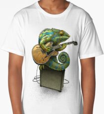 Chameleon Plays the Blues... plus a few other colors Long T-Shirt