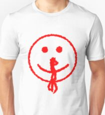 Bloody Nose Smiley Face T-Shirt