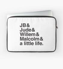 JB & Jude & Willem & Malcom & ein bisschen Leben Laptoptasche