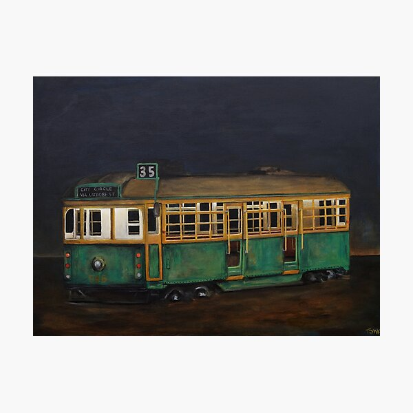 You Can Take The Tram Out Of Melbourne Photographic Print