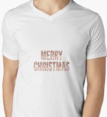 Merry Christmas en rose gold T-Shirt