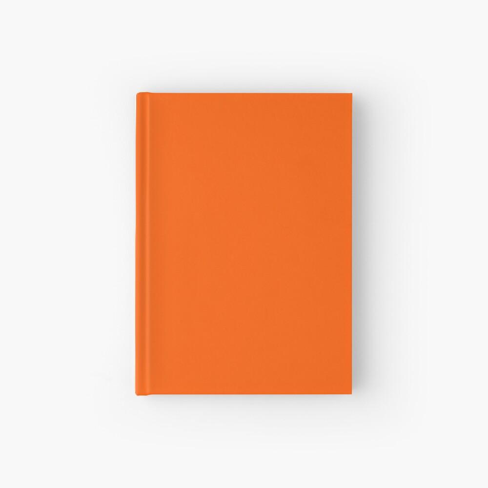 Orange Pantone Hardcover Journal