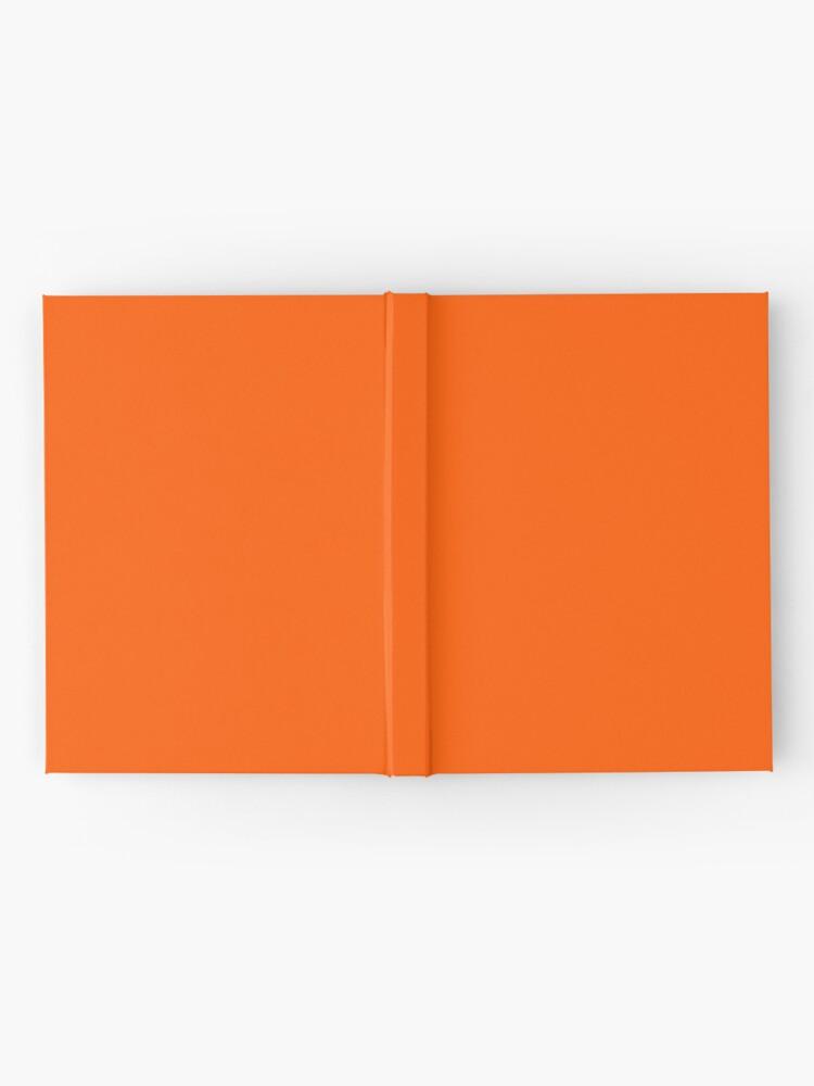 Alternate view of Orange Pantone Hardcover Journal