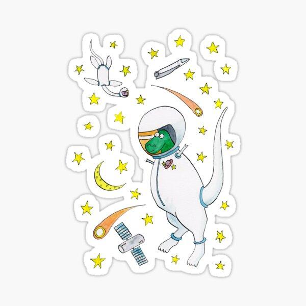 Astro Dinos Sticker