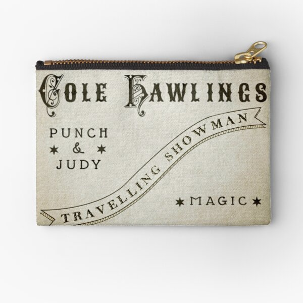 A SHOWMAN CAME A-CALLING (The Box of Delights) Zipper Pouch