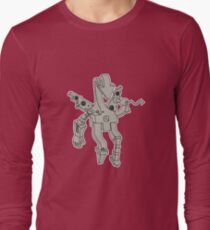 Voice of Reason Outlined Long Sleeve T-Shirt