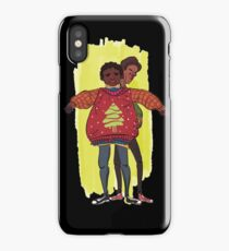 troy and abed - More than fashion or brand labels, I love design. iPhone Case