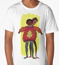 troy and abed - More than fashion or brand labels, I love design. Long T-Shirt