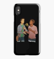 troy and abed - I love when clothes make cultural statements and I think personal style is really cool. iPhone Case