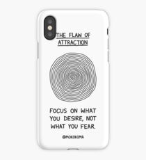 The Flaw of Attraction iPhone Case/Skin
