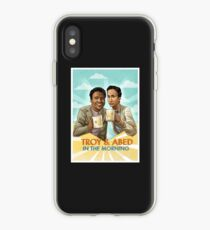 troy and abed - I strive for two things in design: simplicity and clarity. iPhone Case