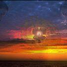 sunsets III by guy natav