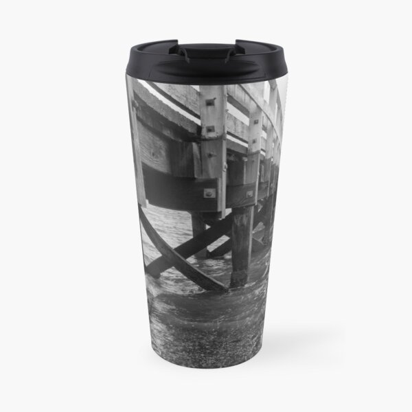 Wooden Ferry Wharf Travel Mug