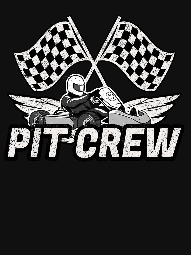 Camisetas y sudaderas «Pit Crew - Go Kart Racing, Racer Tee» de ...