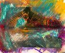 Yeh Yeh #3 ..... hand coloured silver gelatin print by Juilee  Pryor