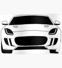 Jaguar F Type Poster
