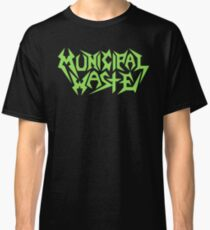 Band Municipal Waste Logo Green Classic T-Shirt