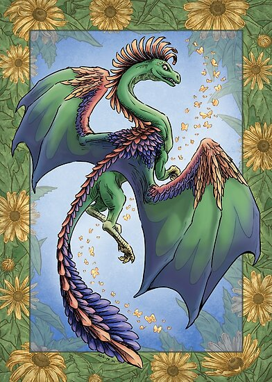 """""""The Dragon of Summer"""" by Stephanie Smith"""