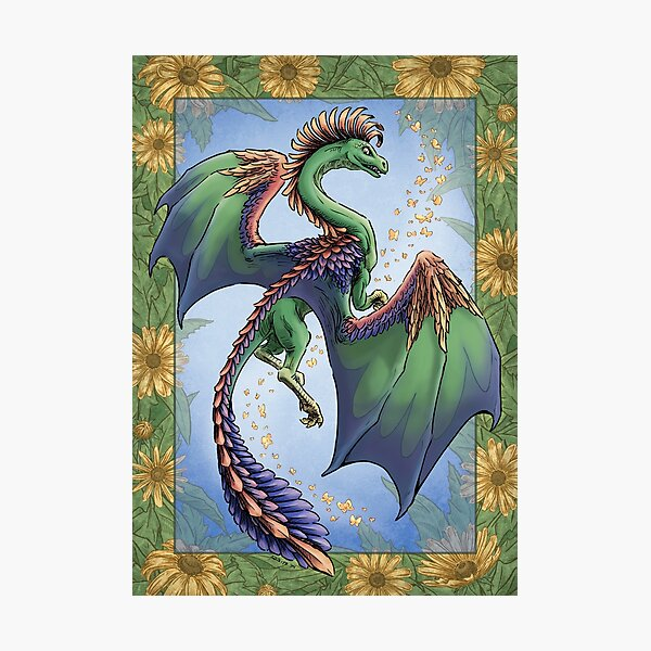 """""""The Dragon of Summer"""" Photographic Print"""