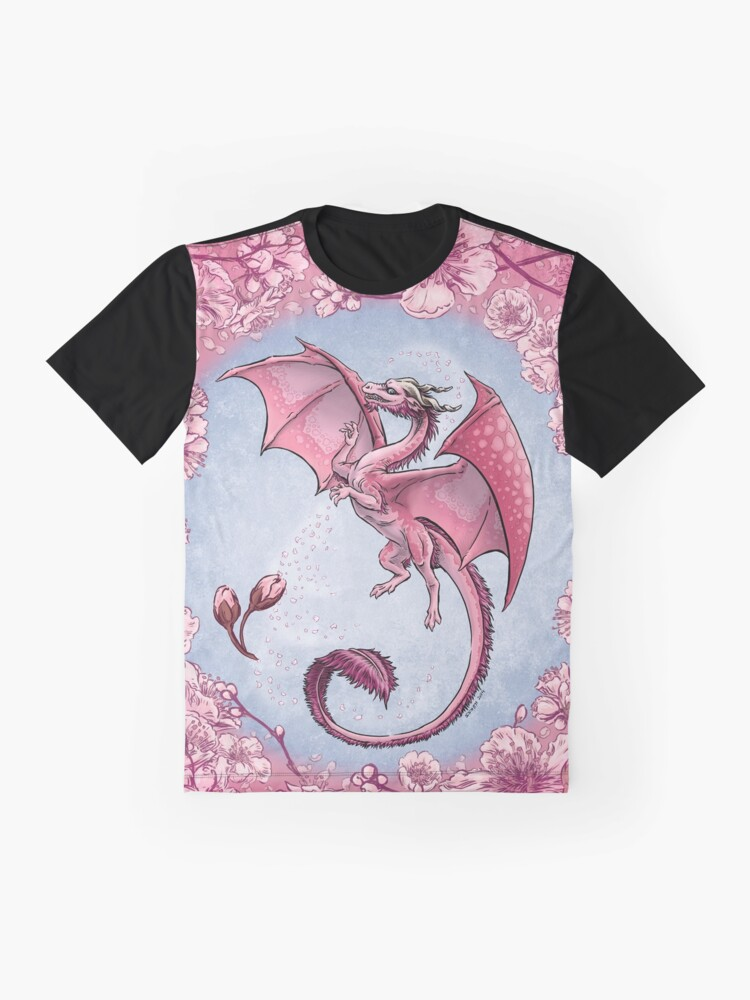 Alternate view of The Dragon of Spring Graphic T-Shirt