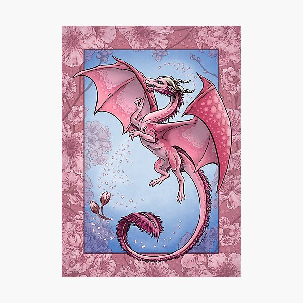 The Dragon of Spring Photographic Print