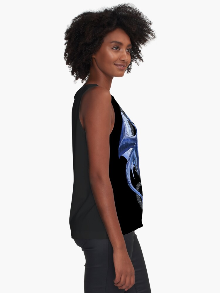Alternate view of The Dragon of Winter Sleeveless Top