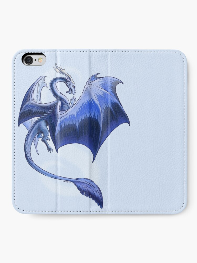 Alternate view of The Dragon of Winter iPhone Wallet