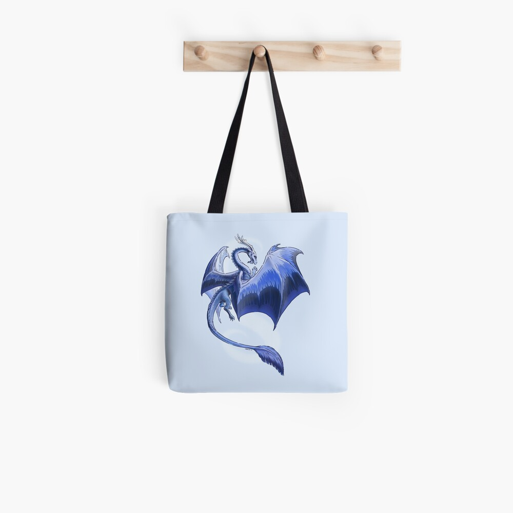 The Dragon of Winter Tote Bag