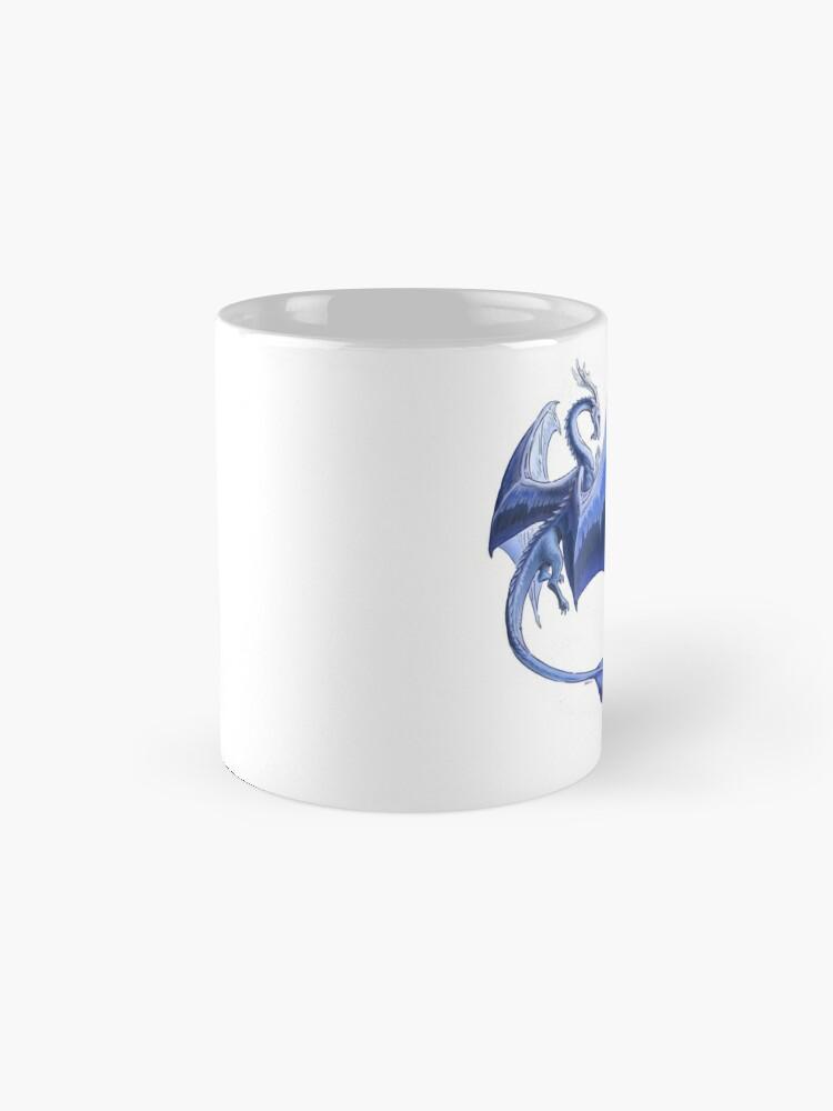 Alternate view of The Dragon of Winter Mug