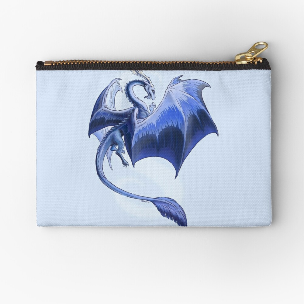 The Dragon of Winter Zipper Pouch