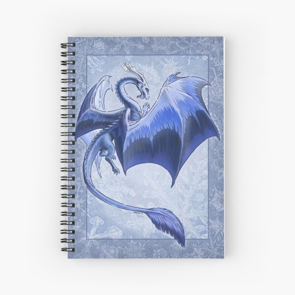 The Dragon of Winter Spiral Notebook