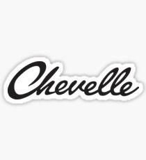 Chevelle Script Sticker