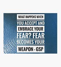 GSP quote Photographic Print