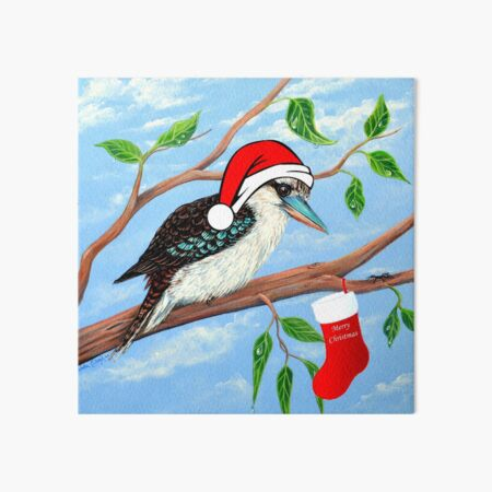 Christmas Stocking Art Board Print